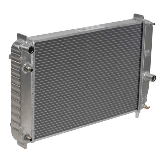 Dewitts 1139097B 1997-00 Corvette Direct Fit Radiator, EOC and TOC