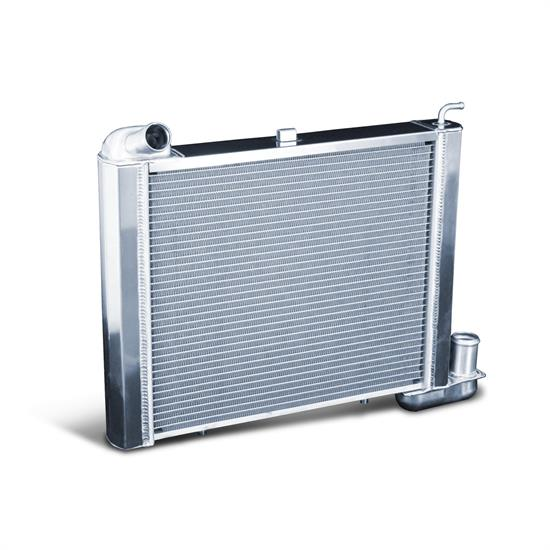 Dewitts 1149063M 1963-72 Corvette Direct Fit HP Radiator, Manual