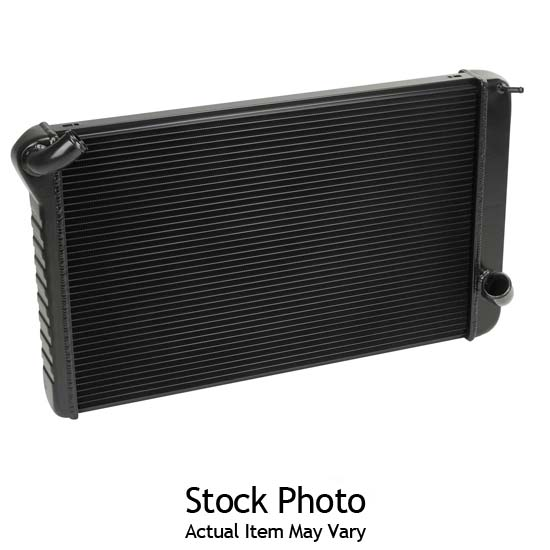 Dewitts 1238007A 1967-70 Mustang Direct Fit Radiator, Black, Automatic