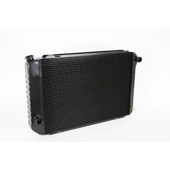 Dewitts 1238009M 1971-73 Mustang Direct Fit Radiator, Black, Manual