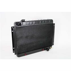 Dewitts 1239016A 1963-70 Impala Direct Fit Radiator, Black, Automatic