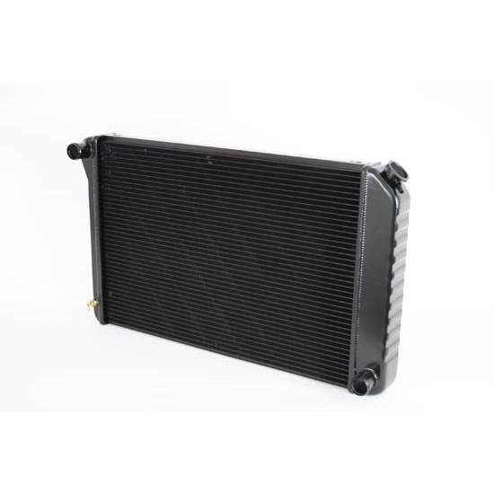Dewitts 1239034M 1973-77 Chevelle SB/BB Direct Fit Radiator, Blk, Man