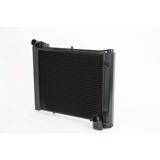 Dewitts 1239061A 1961-62 Corvette Direct Fit Radiator, Black, Auto