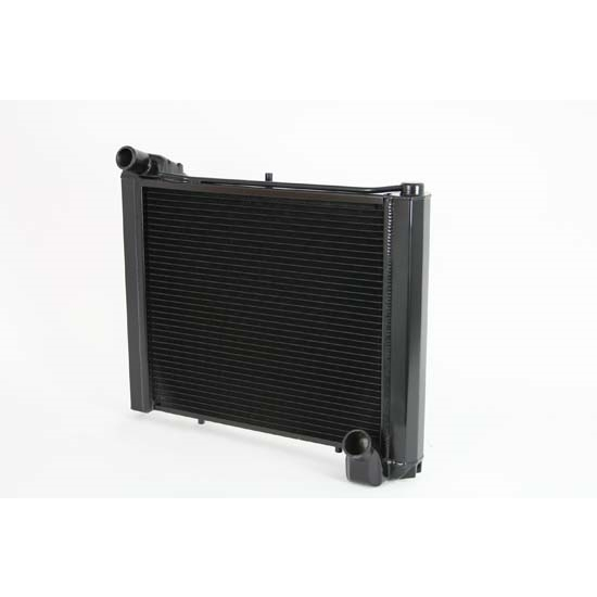 Dewitts 1239061M 1961-62 Corvette Direct Fit Radiator, Black, Manual