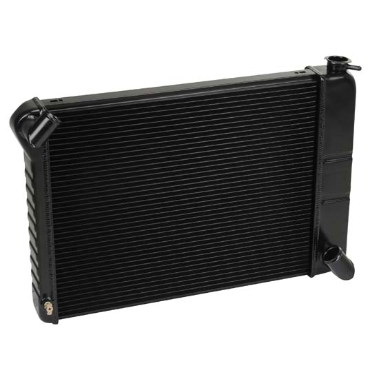Dewitts 1239066M 1966-67 Corvette Direct Fit Radiator, Black, Manual