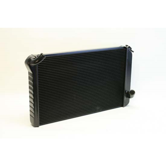 Dewitts 1239073M 1973-76 Corvette Direct Fit Radiator, Black, Manual
