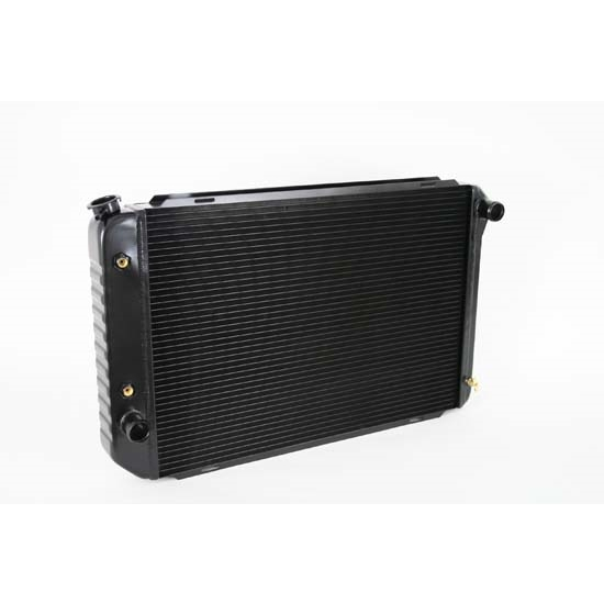 Dewitts 1248012A 1979-93 Mustang Direct Fit HP Radiator, Black, Auto