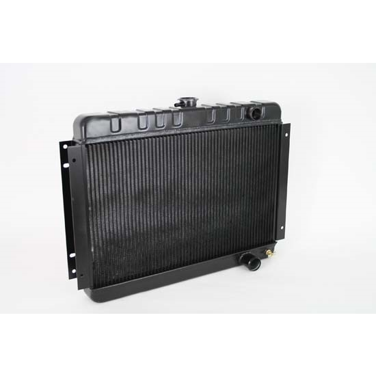 Dewitts 1249001M 64-65 Chevelle SB/BB Direct Fit HP Radiator, Blk, Man