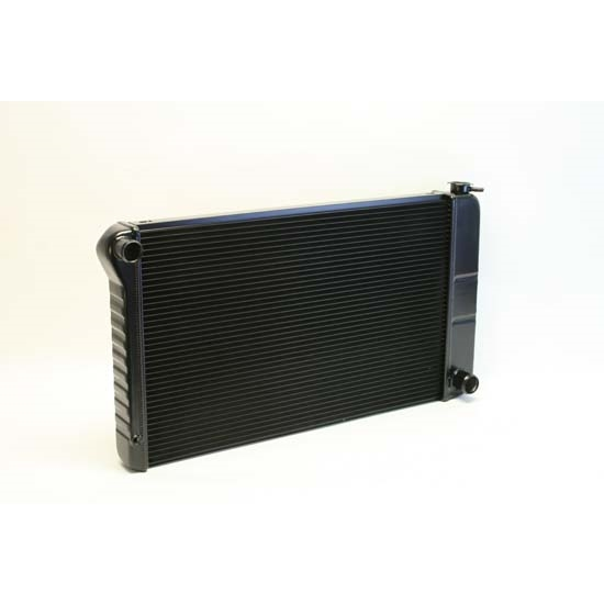 Dewitts 1249003M 1968-72 Chevelle SB/BB Direct Fit HP Radiator, Blk