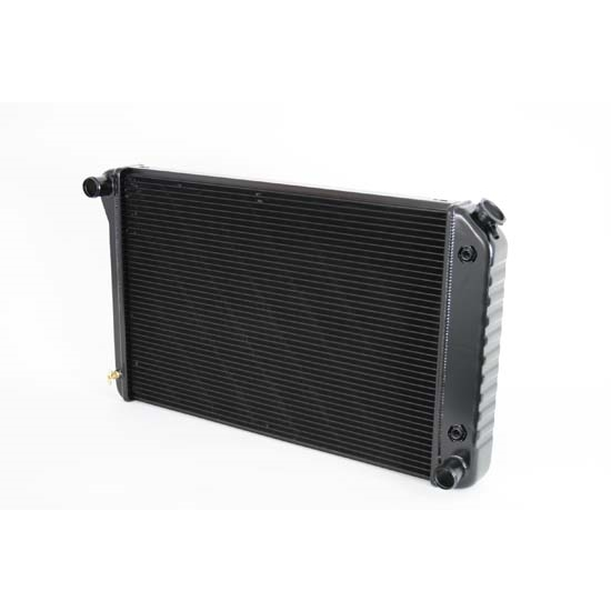 Dewitts 1249005A 1970-81 Camaro Direct Fit HP Radiator, Black, Auto