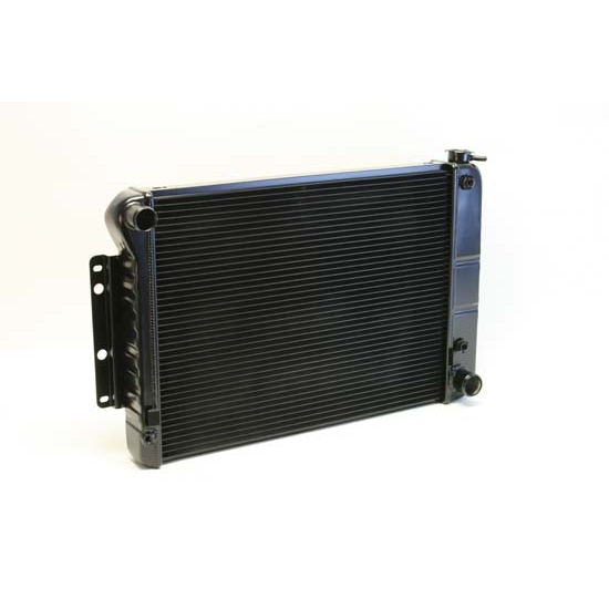 Dewitts 1249022A 1967-69 Camaro BB Direct Fit HP Radiator, Black, Auto