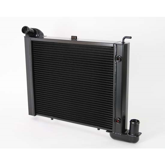 Dewitts 1249063A 1963-72 Corvette Direct Fit HP Radiator, Black, Auto