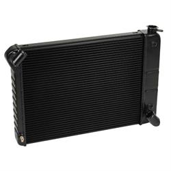 Dewitts 1249066A 1966-67 Corvette Direct Fit HP Radiator, Black, Auto