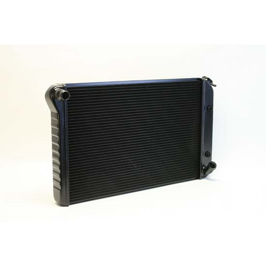 Dewitts 1249077A 1977-82 Corvette Direct Fit HP Radiator, Black, Auto
