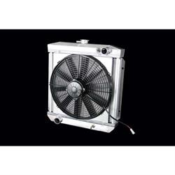 Dewitts 4138002M 1964-66 Mustang Radiator Fan Combo, Manual