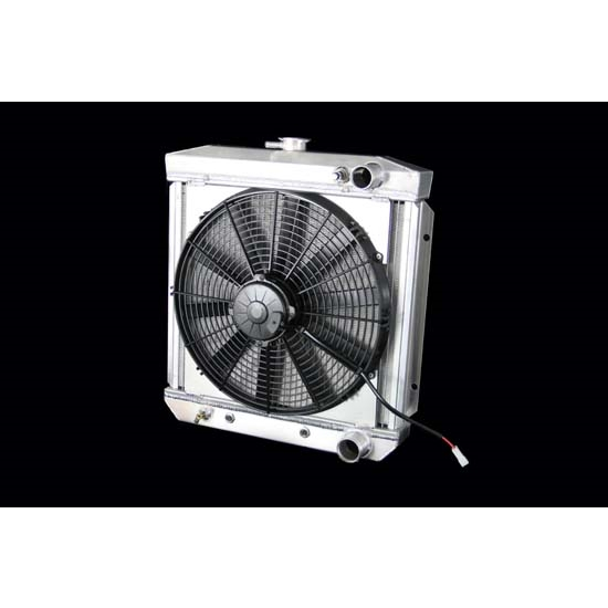 Dewitts 4138004A 1967 289 Mustang Radiator Fan Combo, Automatic