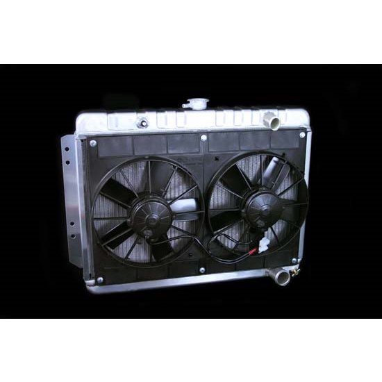 Dewitts 4139001M 1964-65 Chevelle Radiator Fan Combo, Manual