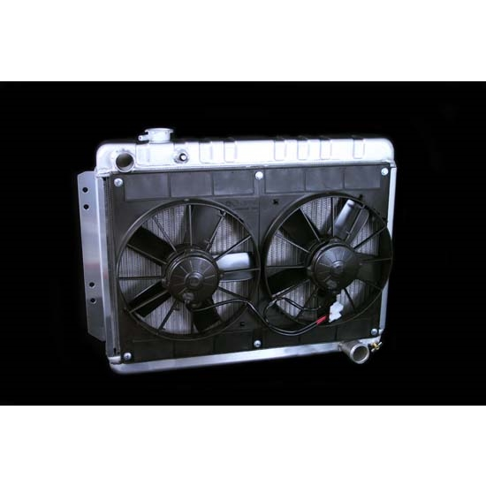 Dewitts 4139002M 1966-67 Chevelle SB/BB Radiator Fan Combo, Manual