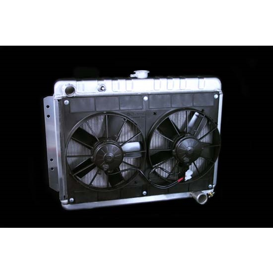Dewitts 4139016M 1963-70 Impala Radiator Fan Combo, Manual