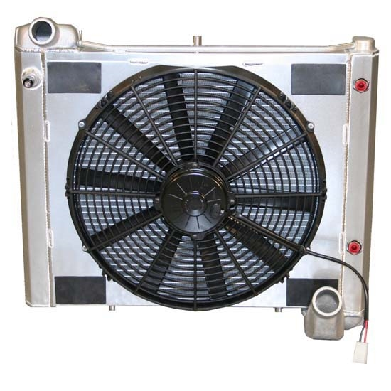 Dewitts 4139061M 1961-62 Corvette Radiator Fan Combo, Manual
