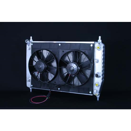 Dewitts 4139105A 2005-13 Corvette Z06 Radiator Fan Combo, Automatic