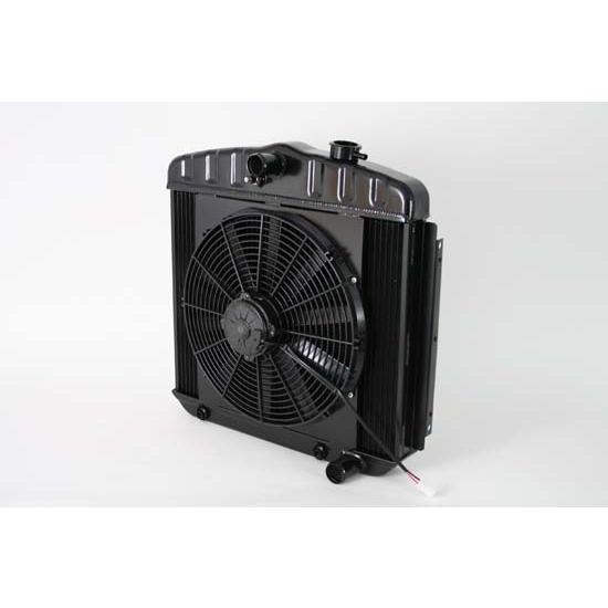 Dewitts 4239012A 1955-57 Chevy TRI-V Radiator Fan Combo, Automatic