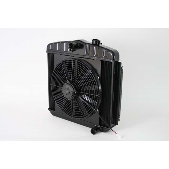Dewitts 4239013M 1955-57 Chevy/TRI-V Radiator Fan Combo, Manual