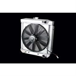 Dewitts 4338004A 1967 289 Mustang Radiator Fan Combo, Automatic