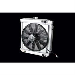 Dewitts 4338004M 1967 289 Mustang Radiator Fan Combo, Manual