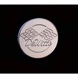 Dewitts 512 Billet Aluminum 15lb. Radiator Cap,  Round