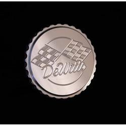 Dewitts 514 Billet Aluminum 15lb. Radiator Cap,  Grip