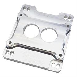 Speedway Billet Holley 2-Barrel Carburetor Spacer, Single Plane Intake