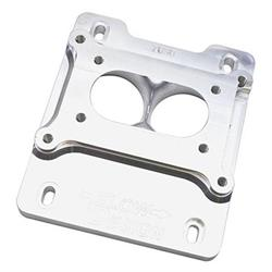 Speedway Billet 2-Barrel Carburetor Spacer, Q-Jet Intake