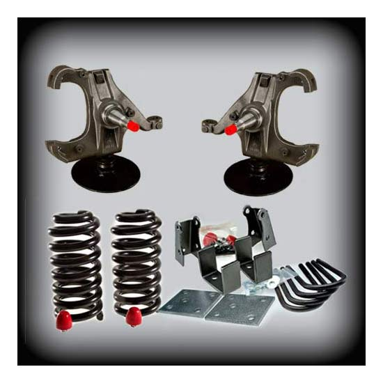 DJM Suspension DJM2045L-5/5 LTD Lowering Kit, 73-87 C10, 5/5 Drop