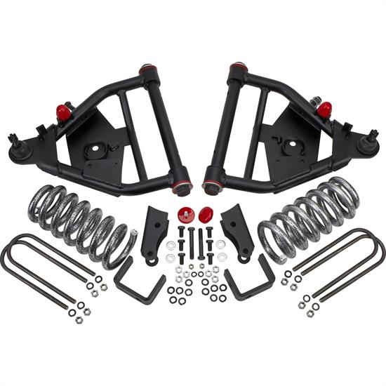 DJM Suspension DJM2456-5/5 LTD Lowering Kit, 73-87 C10, 5/5 Drop