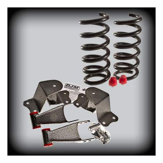 DJM Suspension DJM2351-3/4 Lowering Kit, 88-98 C1500, 3/4 Drop
