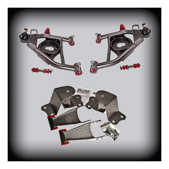 DJM Suspension DJM2555-3/4 Lowering Kit, 88-98 C1500, 3/4 Drop