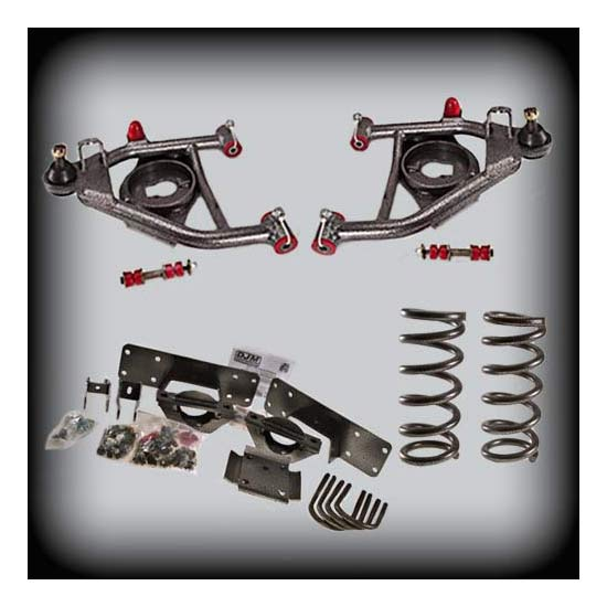 DJM Suspension DJM2555-4/6 Lowering Kit, 88-98 C1500, 4/6 Drop