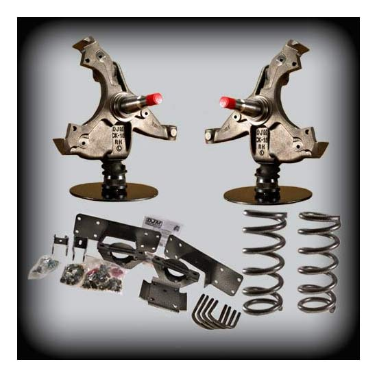 DJM Suspension DJM2055-4/6 Lowering Kit, 88-91 C1500 4/6 Drop