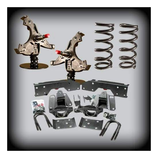 DJM Suspension DJM1029-2D Lowering Kit,95-99 GM SUV,2-Dr,4/4 Drop