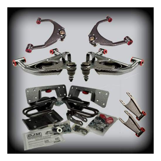 DJM DJM2599-5/7+ Lowering Kit, 99-06 C1500,5/7 Drop,Long Bed Only