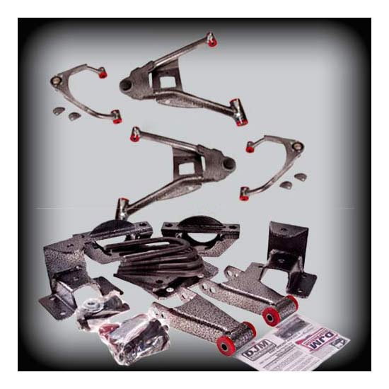 DJM Suspension DJM2515-3/5 Lowering Kit, 07-15 C1500, 3/5 Drop