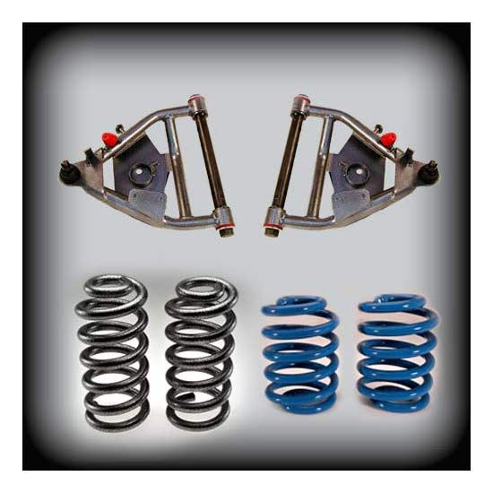 DJM Suspension DJM2356-5/5 Lowering Kit, 71-72 C10, 5/5 Drop