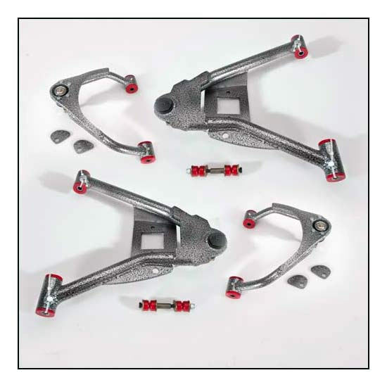 DJM Suspension CA2515-4 Calmax Control Arms,15-17 Chevy,4 In Drop