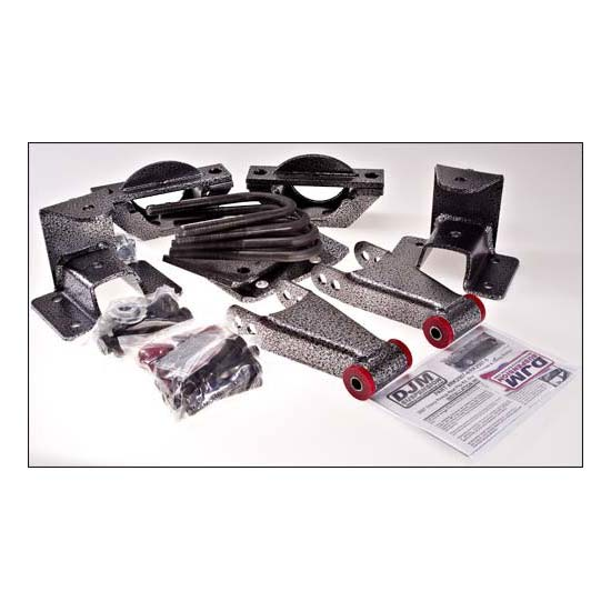 DJM Suspension RK2507-5 Axle Flip Kit, 07-15 C1500, 5 Inch Drop