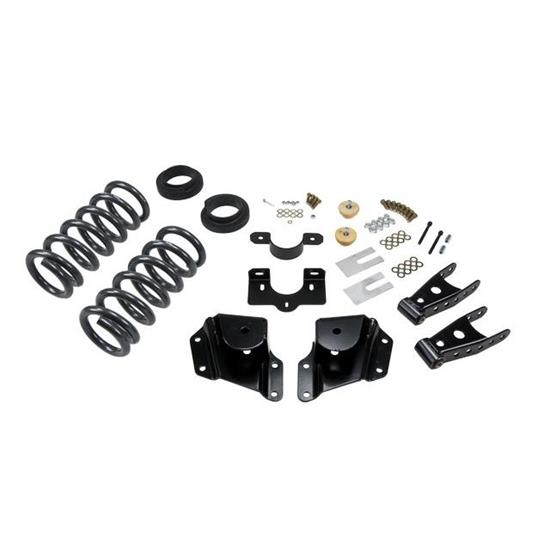 Belltech 670 Lowering Kit, 99-06 GM Silverado/Sierra (Ext Cab)