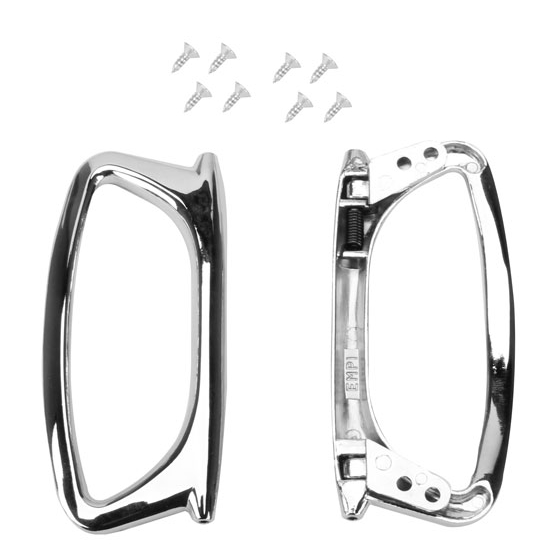 EMPI 15-2080 Universal Chrome Door Puller Handles, Pair