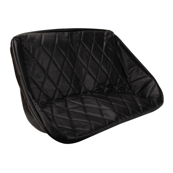 Stupendous Empi 3059 Buggy Rear Bench Seat Cover Black Diamond Pleat 34 1 2 In Cjindustries Chair Design For Home Cjindustriesco