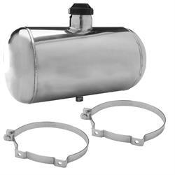 10x24 End Fill Round Spun Aluminum Fuel Tank 8 Gallon 1//4 NPT Dune Buggy