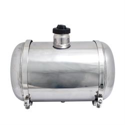EMPI 3895 Pol Stainless Steel Fuel Tank, 10x16 In., Center Fill, 5 Gal